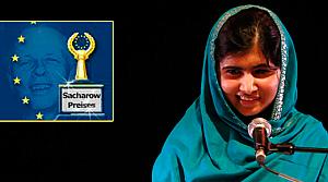 Sakharov ödülü Malala'ya verildi