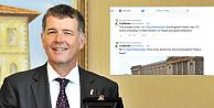 Saray polemiğine Büyükelçi Moore, twitterden cevap verdi
