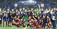 Süper Kupa'nın sahibi Barcelona!