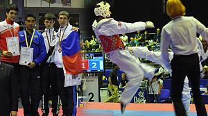 Taekwondo'da Ümitler madalya topladı