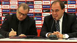 Terim, Milli Takım'la 5+ 2 yıllık sözleşme imzaladı