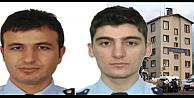 Teröristler 2 polisi şehit etti