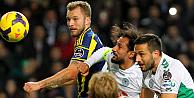 Torku Konyaspor - Fenerbahçe 1-1ini çelmeledi
