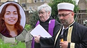 Nur hanımı imam ile papaz birlikte defnetti