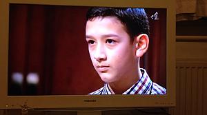 Türk öğrenci İngiliz televizyonunda Dahi Çocuk