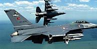 Türk savaş uçakları sınır ötesinde!