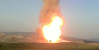 Türkiye-İran doğalgaz boru hattına bombalı saldırı
