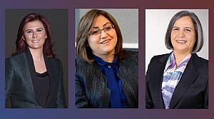Üç büyükşehiri kadın başkanlar yönetecek