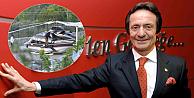 Ünlü iş adamı Ahmet Nazif Zorlunun helikopteri düştü
