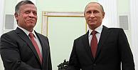 Ürdün Kralı Abdullah'tan Putin'e destek