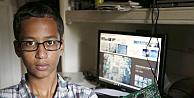 Yaptığı saat bomba sanılan Ahmet Muhammede Googledan jest