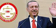 YSKden flaş Erdoğan kararı