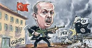 Erdoğan, üç cephede savaşarak risk alıyor