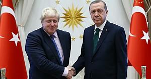 Boris Johnson'un ziyareti İngiliz medyasında