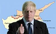Boris Johnson'dan Kıbrıs'a ilk ziyaret
