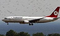 THY uçağı tehlike atlattı!