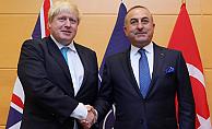 Çavuşoğlu ve Johnson Brüksel'de görüştü