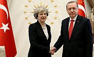 Cumhurbaşkanı Erdoğan May'i Kabul etti