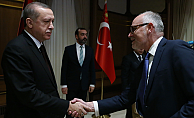 Erdoğan, Britanya Parlamento heyetini kabul etti