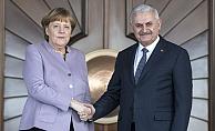 Almanya Başbakanı Merkel Ankara'da
