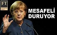 Merkel, yasaklarda geri planda