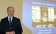 Solmaztürk, Londra'da 'Atatürk ve Kitapları'nı anlattı