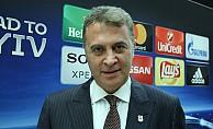 Beşiktaş Başkanı Orman, Bayern Münih için konuştu