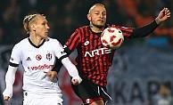 Gençlerbirliği'ni evinde yenen Beşiktaş Finalde