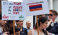 Londra'da Sarkisyan Protestosu