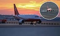 İstanbul Yeni Havalimanı'na İlk İnişi Erdoğan'ın Uçağı Yaptı