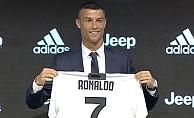 Juventus, 24 saatte 60 milyon dolarlık Ronaldo forması sattı