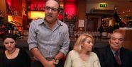 Britanya'daki Türk Gazeteciler yeni yıl yemeğinde