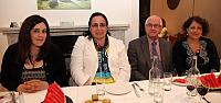 Kıbrıslı Türk Politikacılara Tuncalı'dan Yemek