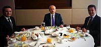 Sarıgül ile Kılıçdaroğlu kahvaltıda buluştu