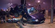 Trafik lambası hayat kurtardı