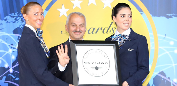 Türk Hava Yolları'na dört ödül birden
