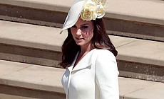 Kate Middleton düğüne 3 yıl önce giydiği kıyafetle katıldı