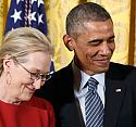 Obama, Meryl Streep'e olan aşkını böyle itiraf etti!