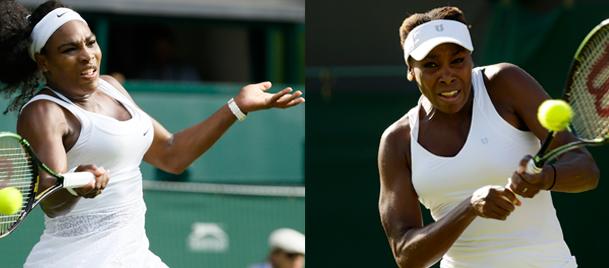Wimbledonda Williams kardeşler 4. turda rakip oldu