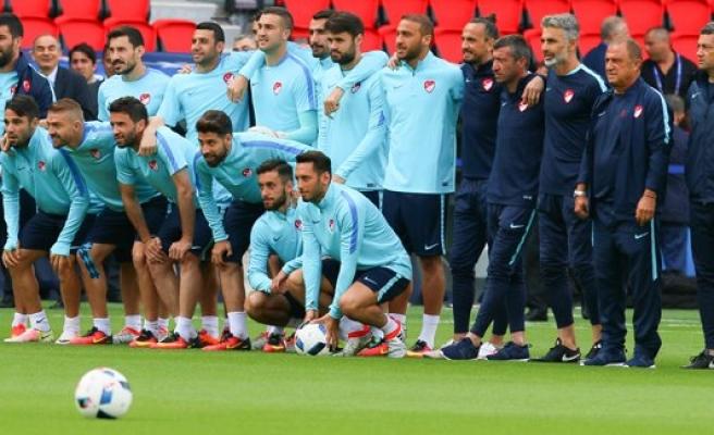A Milli Takım, Hırvatistan maçına hazır