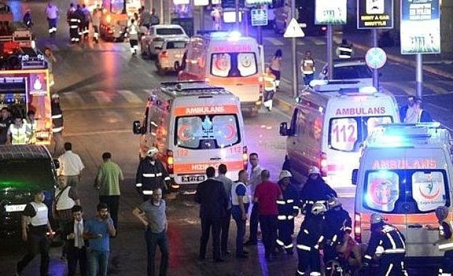 Atatürk Havalimanı'ndaki terör saldırısında 60 yaralı!