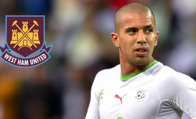 Feghouli, West Ham United kadrosunda