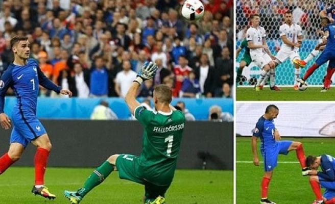 Fransa 5 : 2 İzlanda