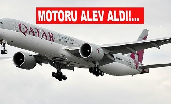 Atatürk Havalimanı'na acil iniş yaptı