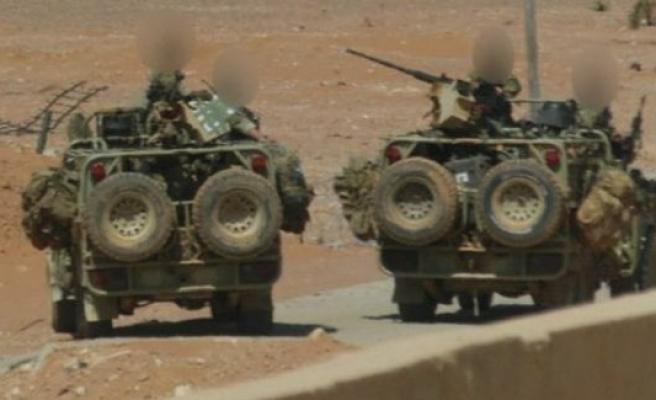 BBC'den Suriye'deki İngiliz askerlerin fotoğrafları paylaştı