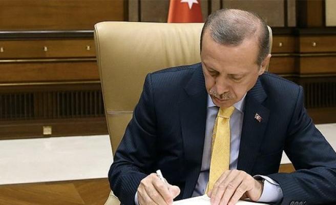 Erdoğan'dan, Uluslararası İşgücü Kanunu'na onay