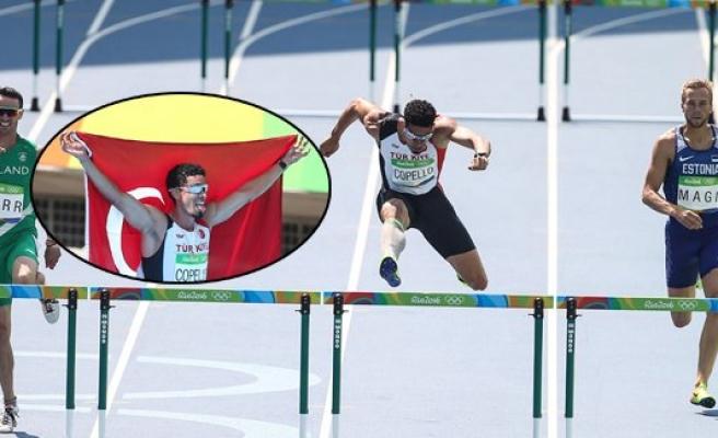 Rio'da üçüncü madalya Caspello Escobar'dan