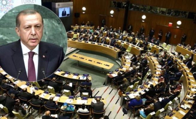 Erdoğan, BM'de FETÖ ile mücadeleyi hatırlattı