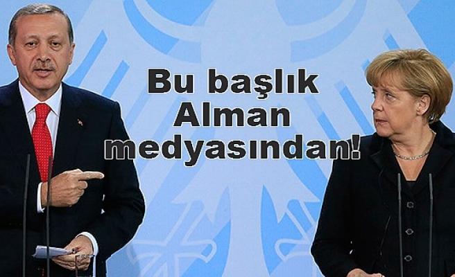 Merkel, Erdoğan'ın önünde diz çöktü!