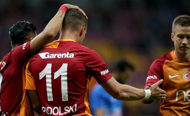 Kupada Dersim'i 5-1 yenen Galatasaray adını gruplara yazdırdı